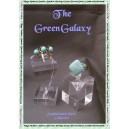 The Green Galaxy Square ring